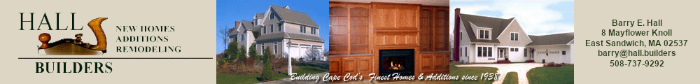 Hall Builders - Cape Cod Custom Home Builders